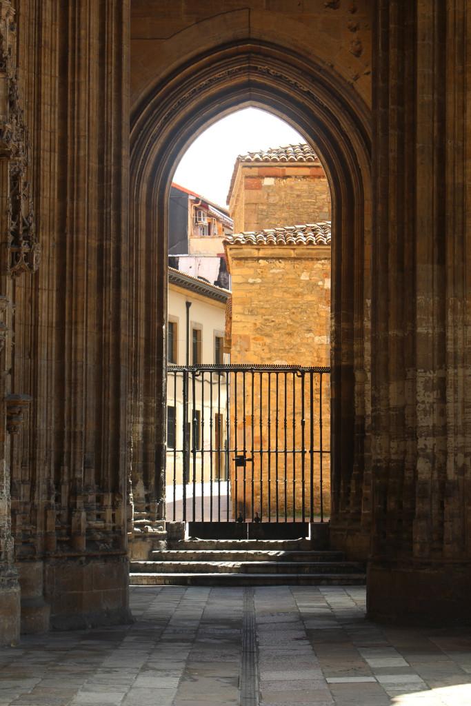 Tall archways