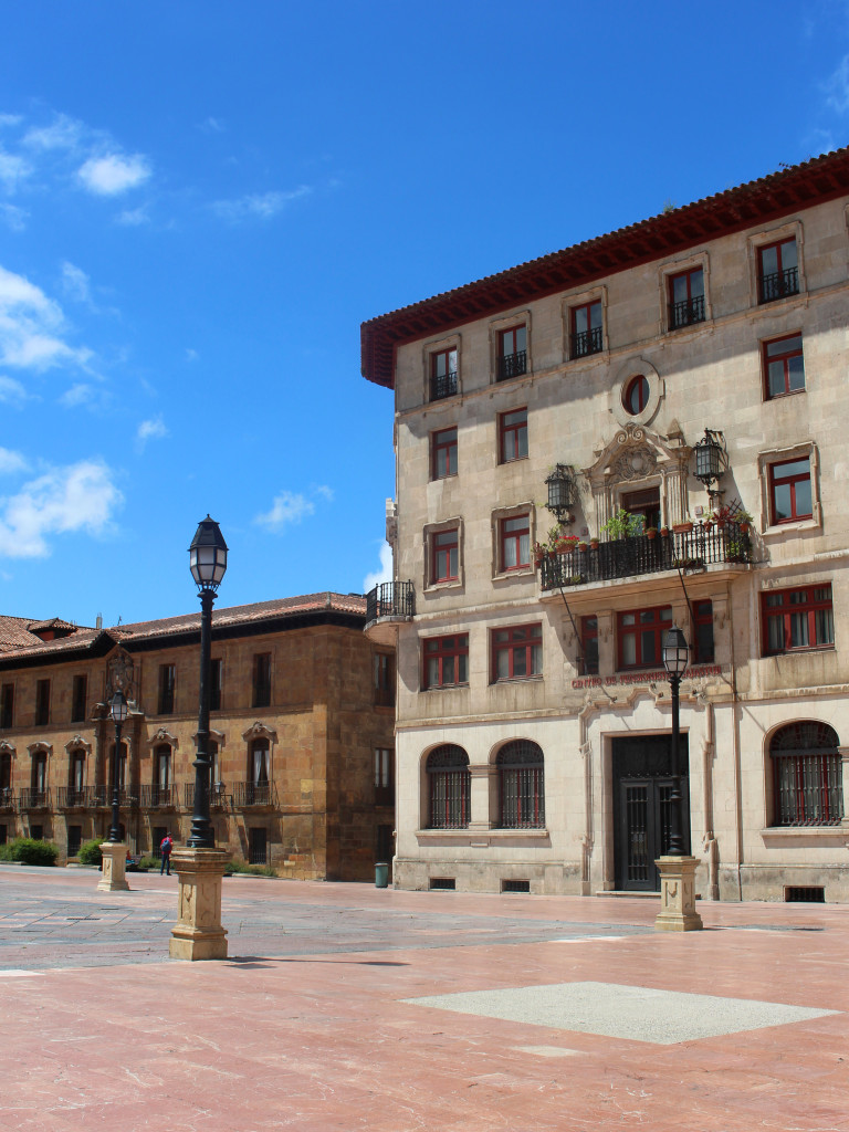 The cathedral square