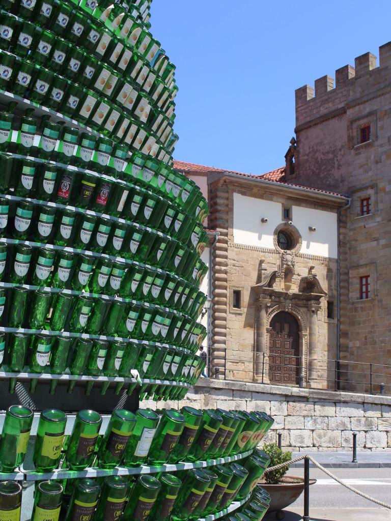 The cider bottle tree