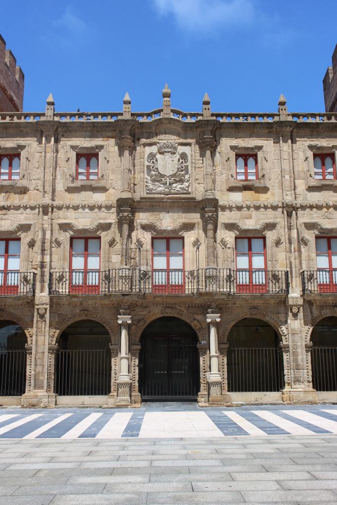 A very pretty facade