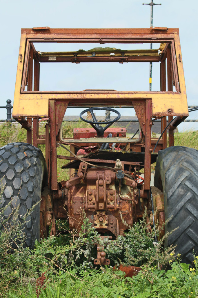 Another tractor has had its day
