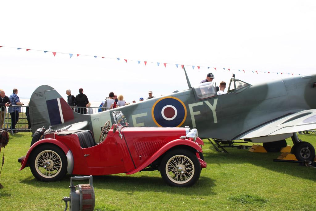Spitfires in Lytham