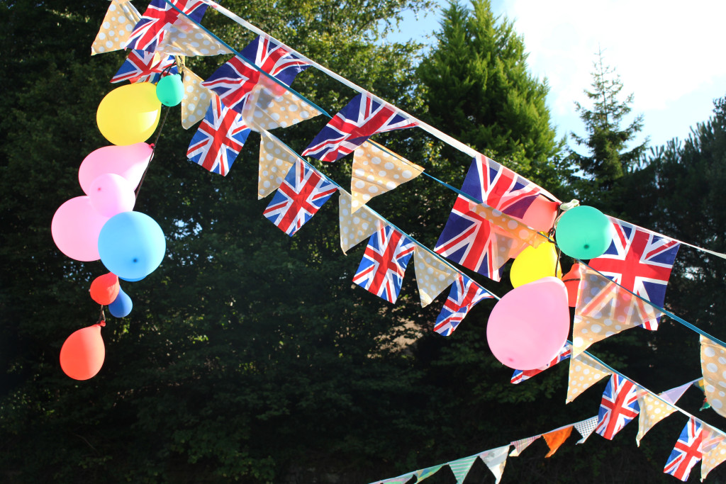 Bunting galore