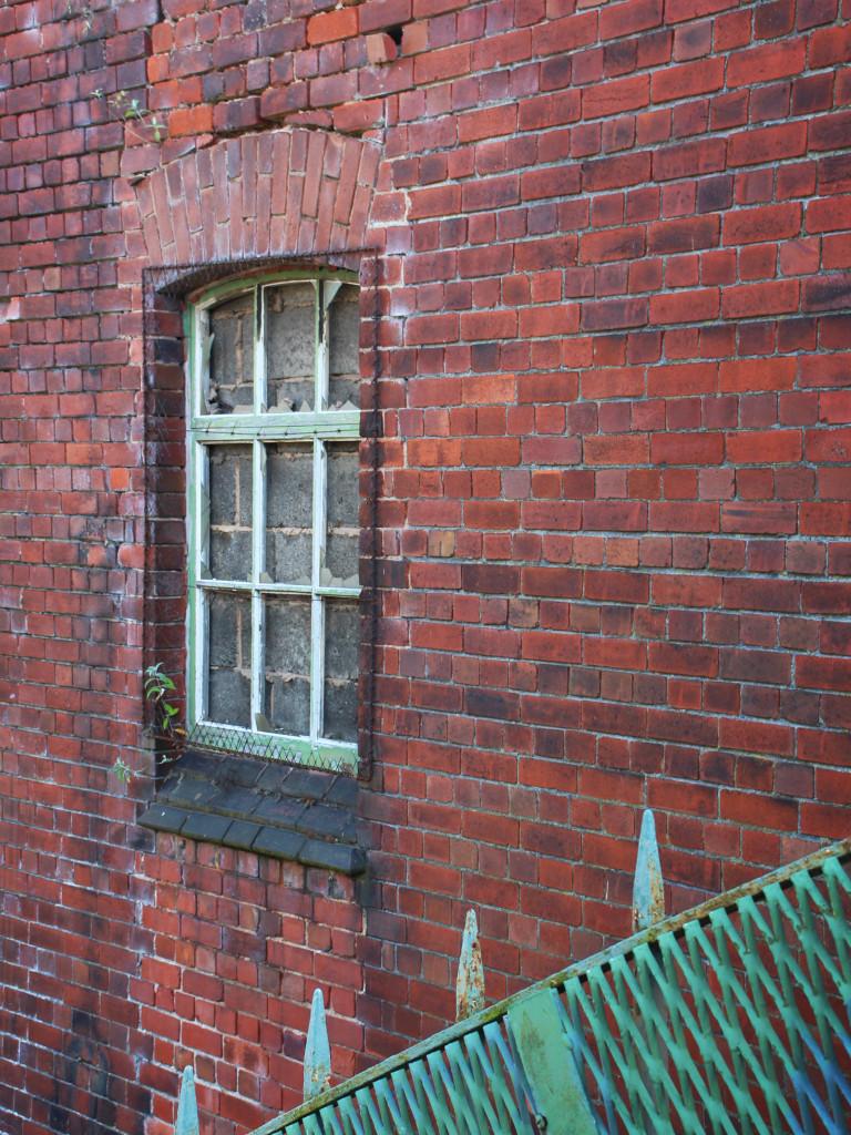 A window no more