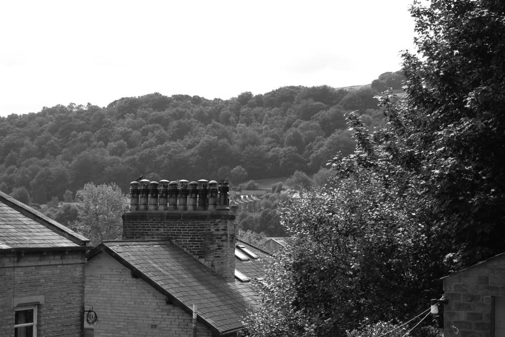 Chimneys over Hebden