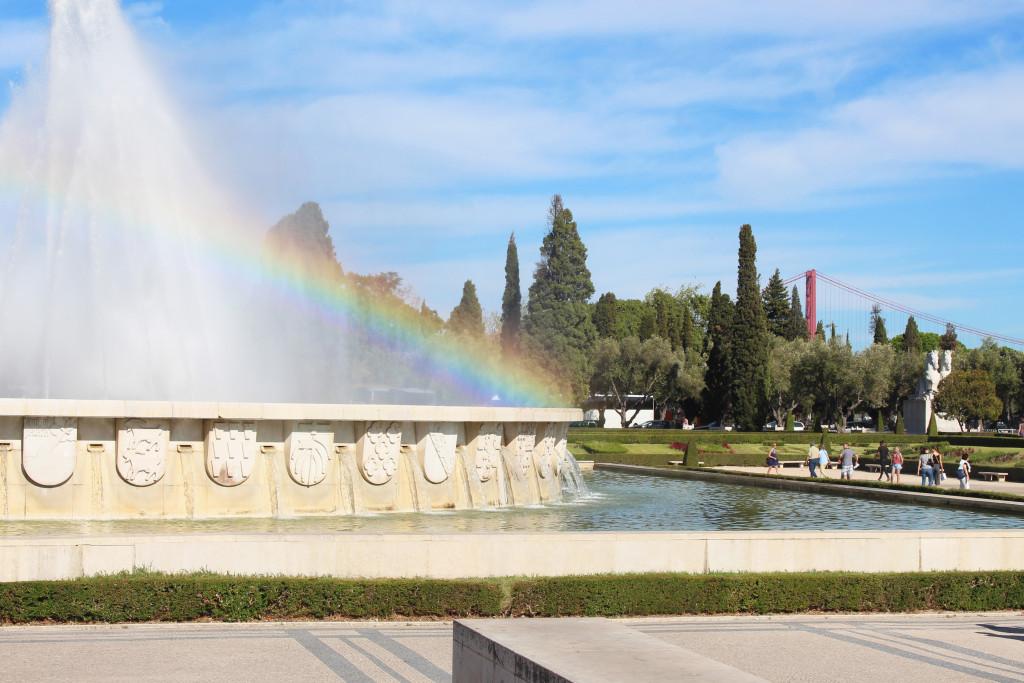 A rainbow over Belém