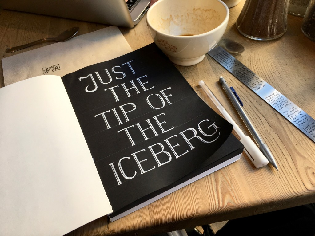 Coffee and typography