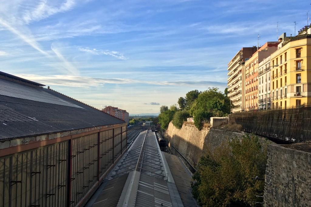 A good view over Príncipe Pío