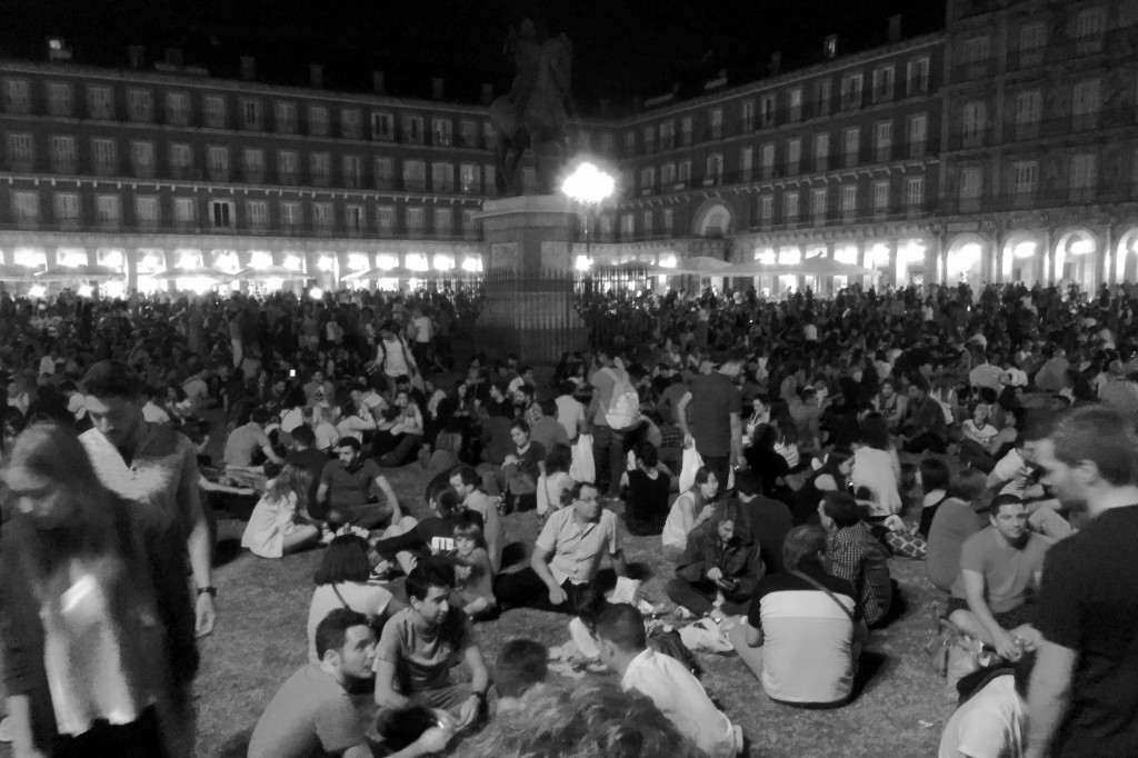 Grass in Plaza Mayor?