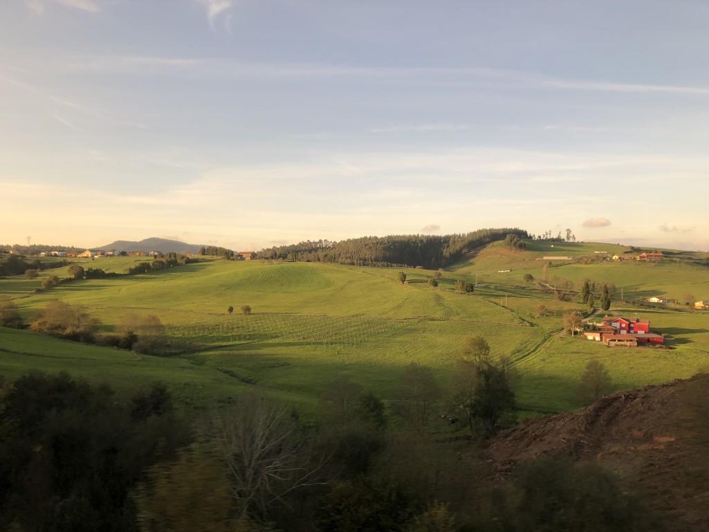 The greenery of Asturias
