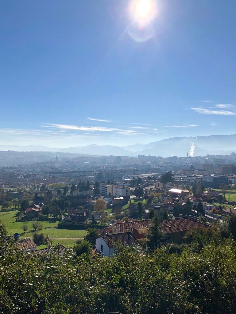 Looking over Oviedo