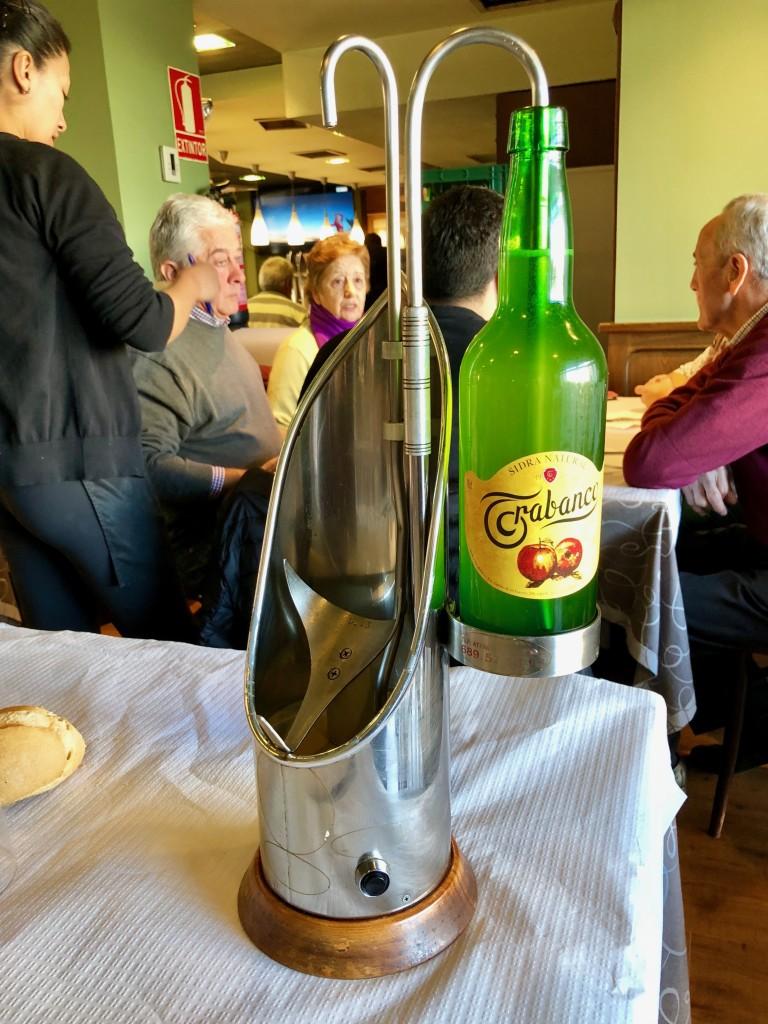 The cider machine