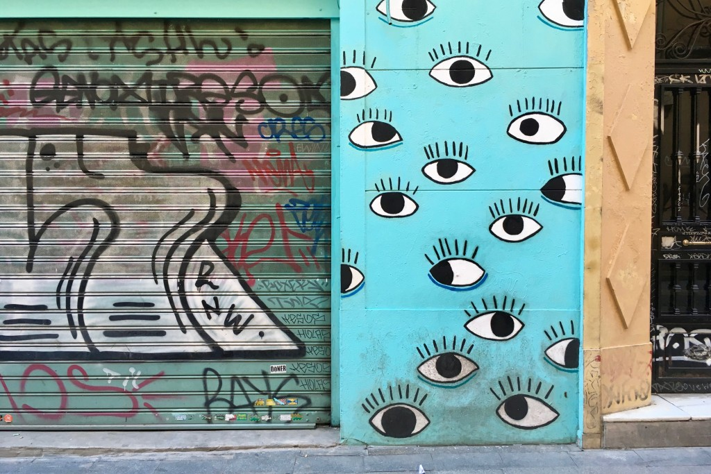 Being watched in Malasaña