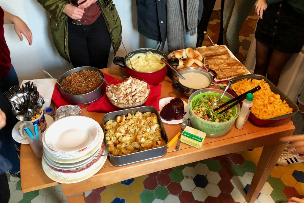 A Thanksgiving feast