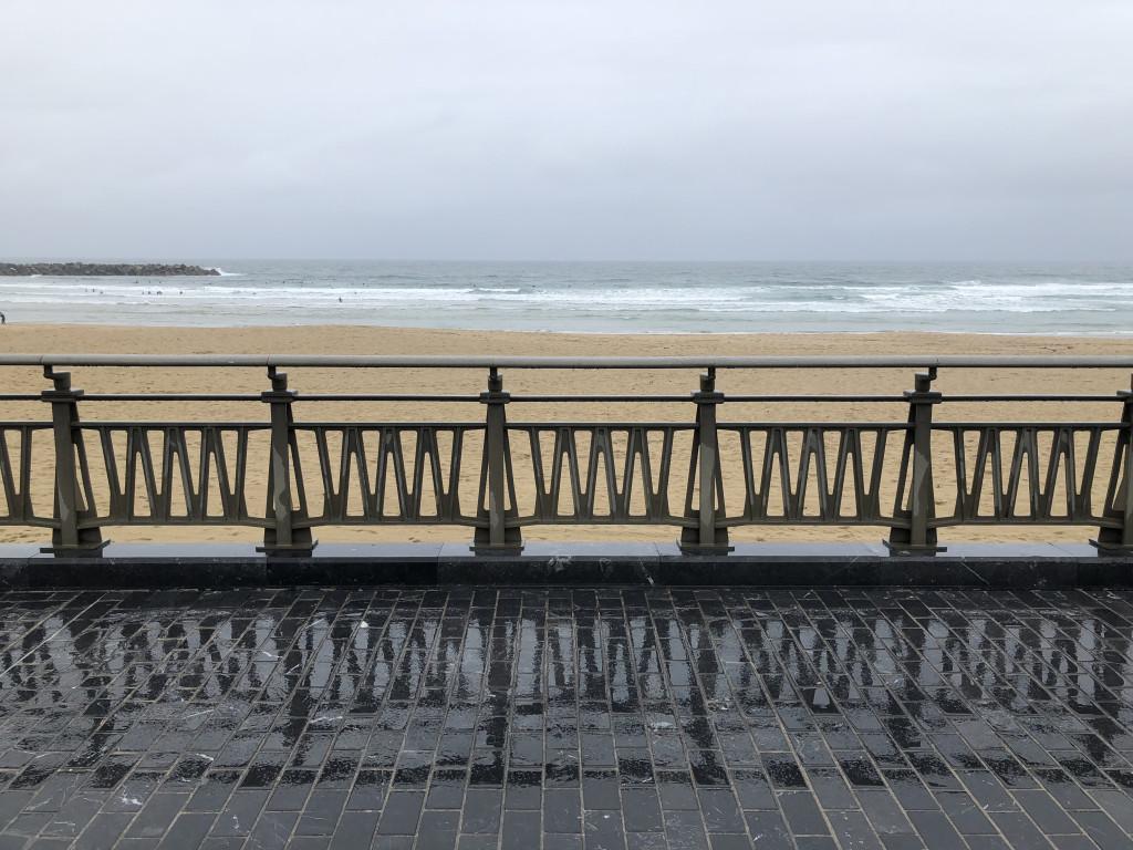 Wandering along the beach