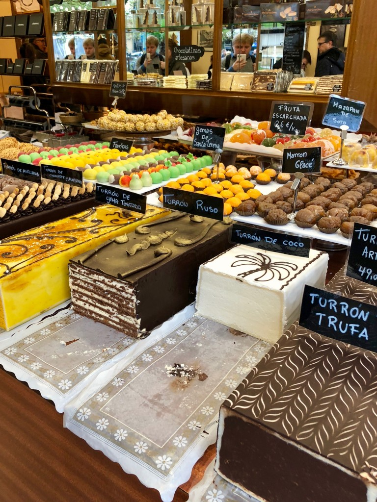 They also had loads of turrón