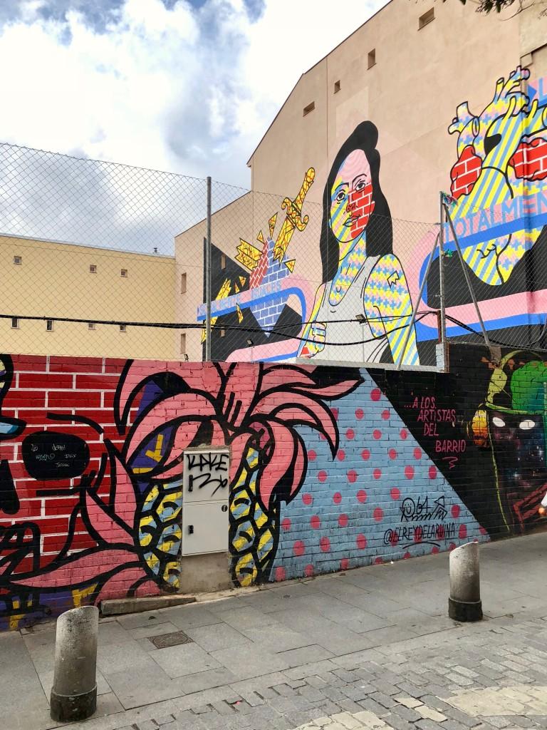 Street art near El Rastro