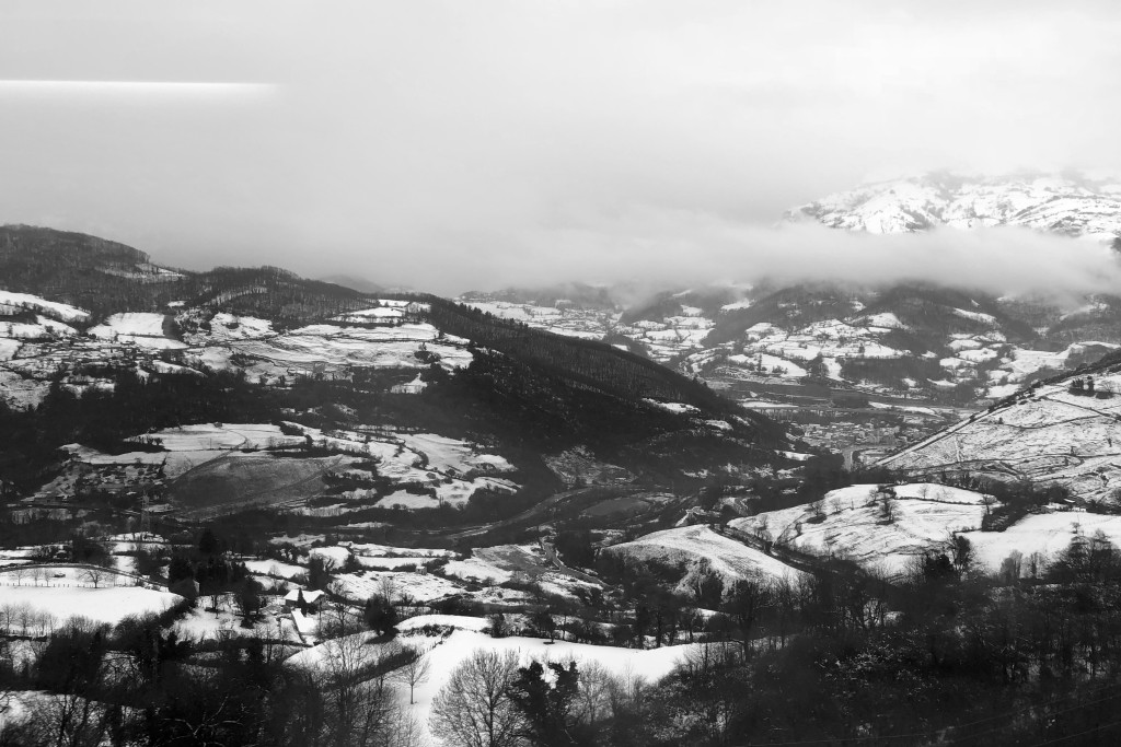 A snowy vision of Spain