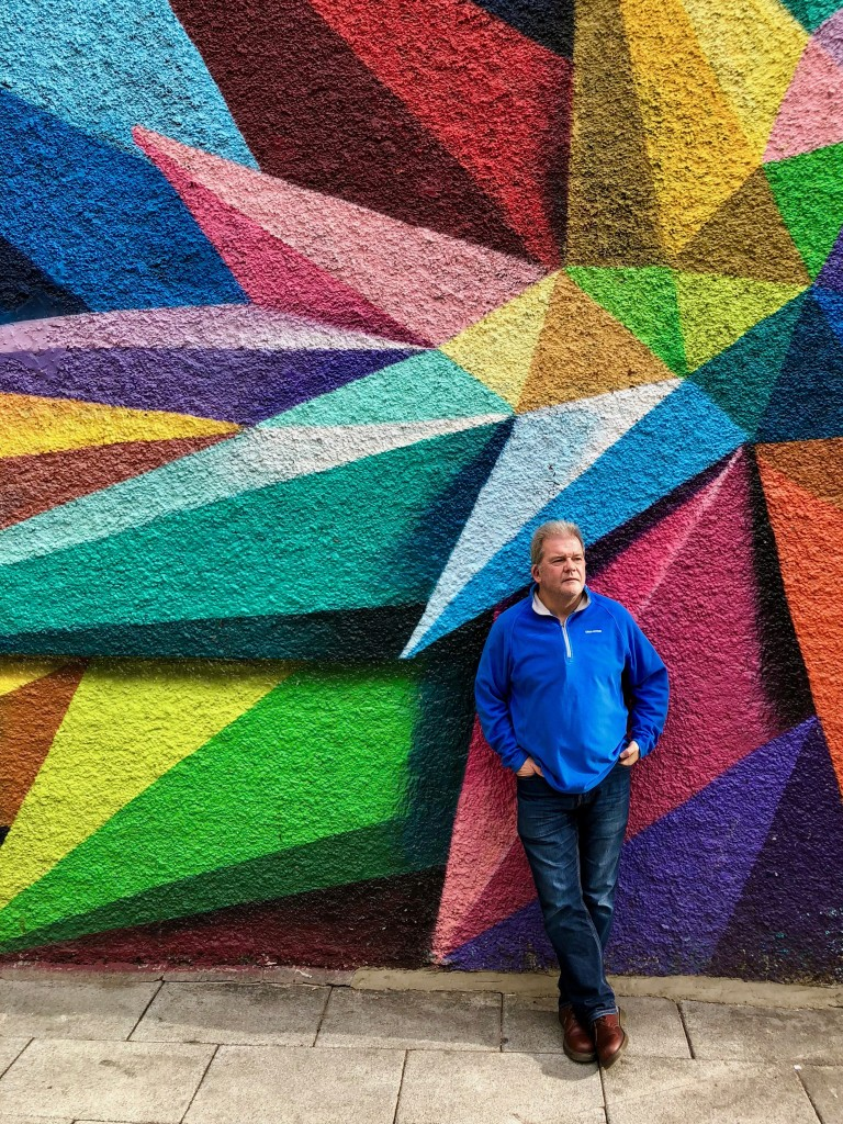 My dad in Lavapiés