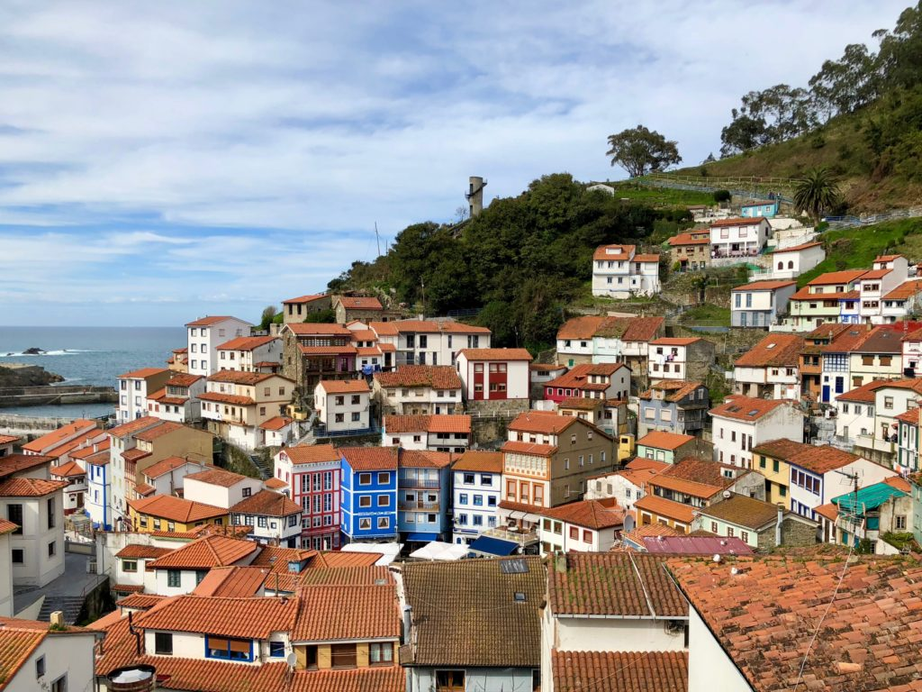 A last glimpse of Cudillero