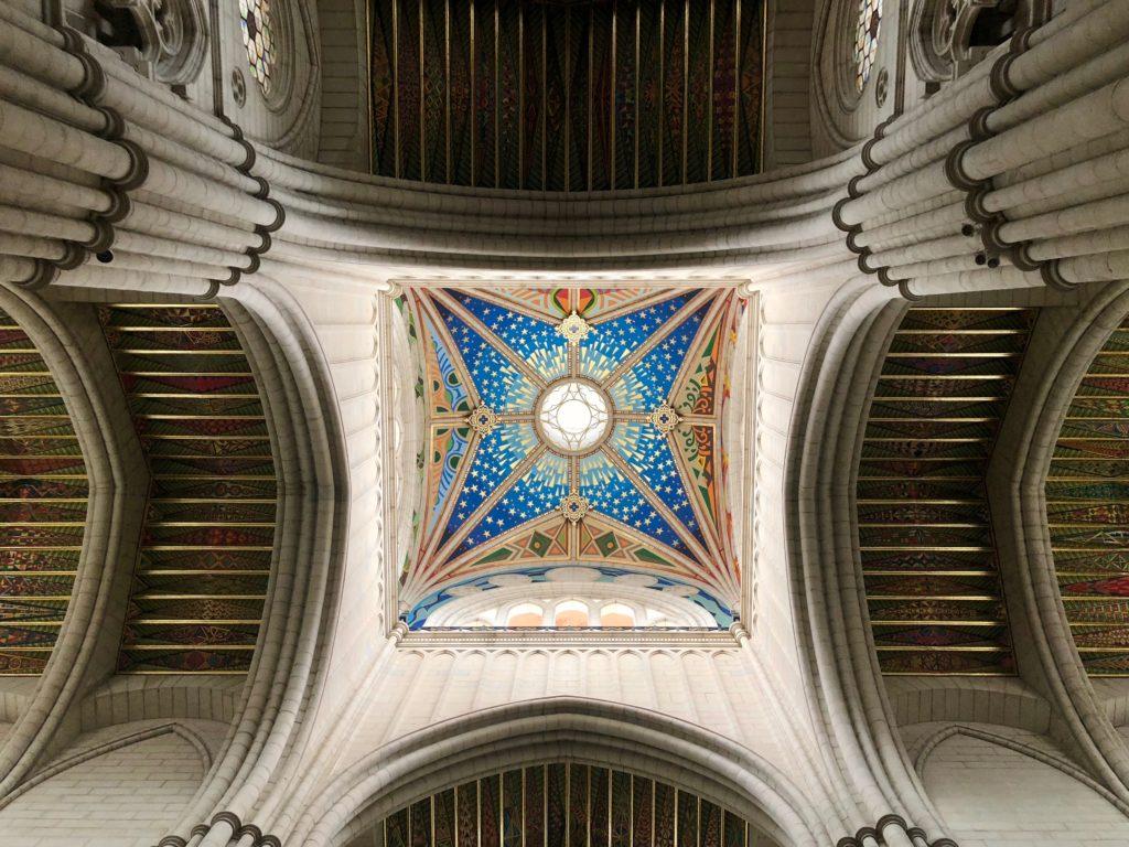 Up to the heavens in the Catedral de la Almudena