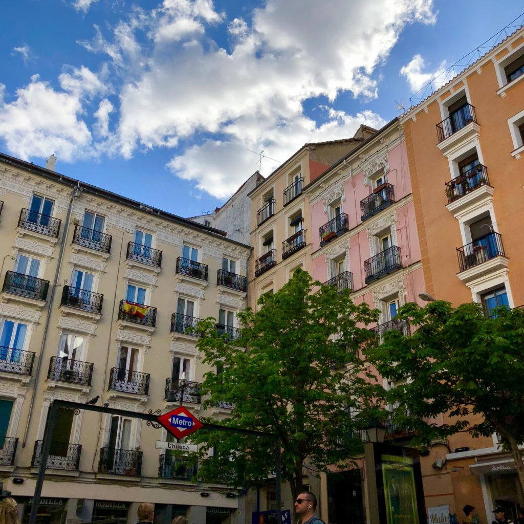 The plaza in Chueca