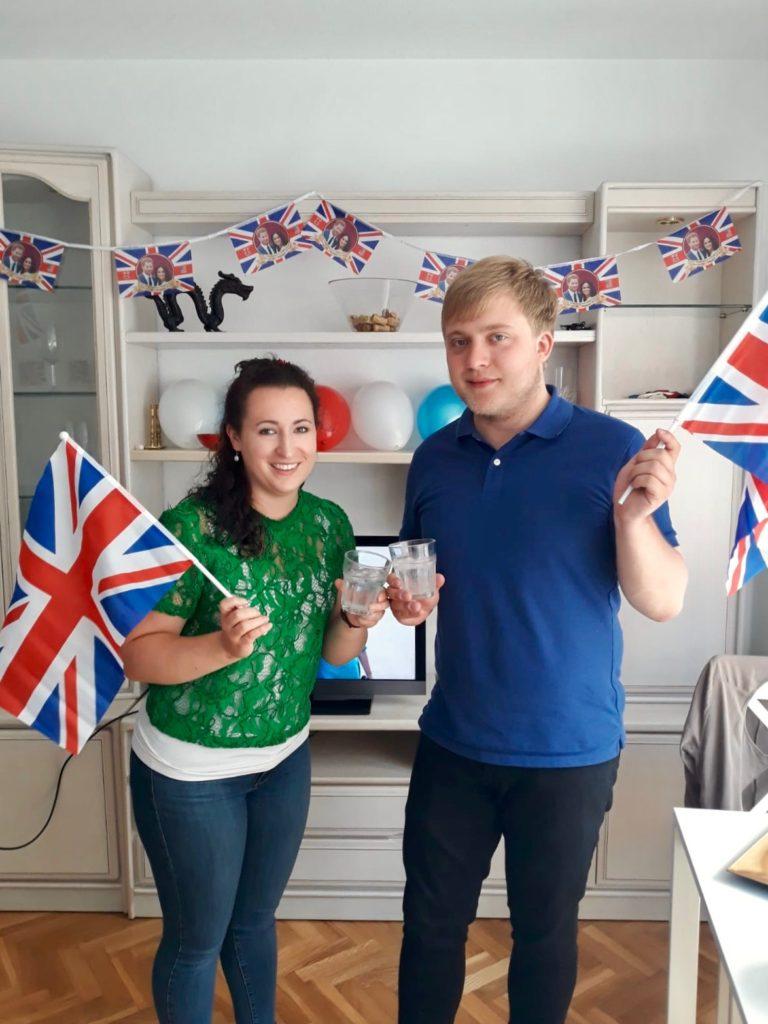 Me and Megan get all patriotic
