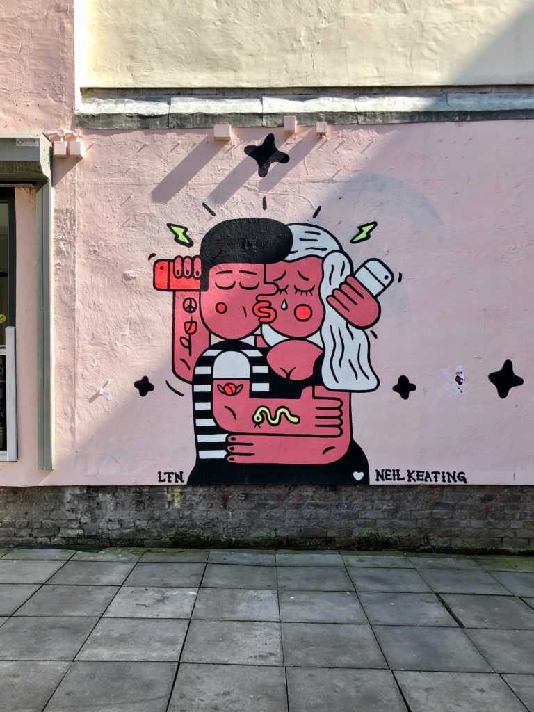 Nice street art in Liverpool