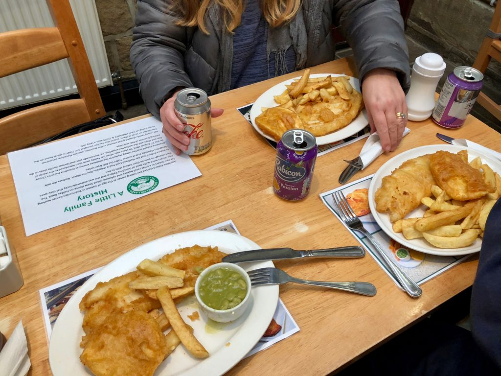 A delicious British feast