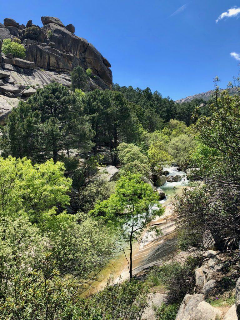 Traversing the valley