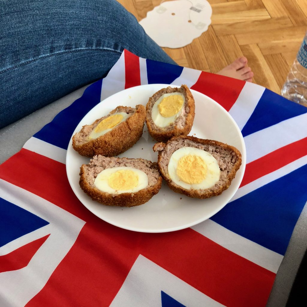 Scotch eggs by yours truly
