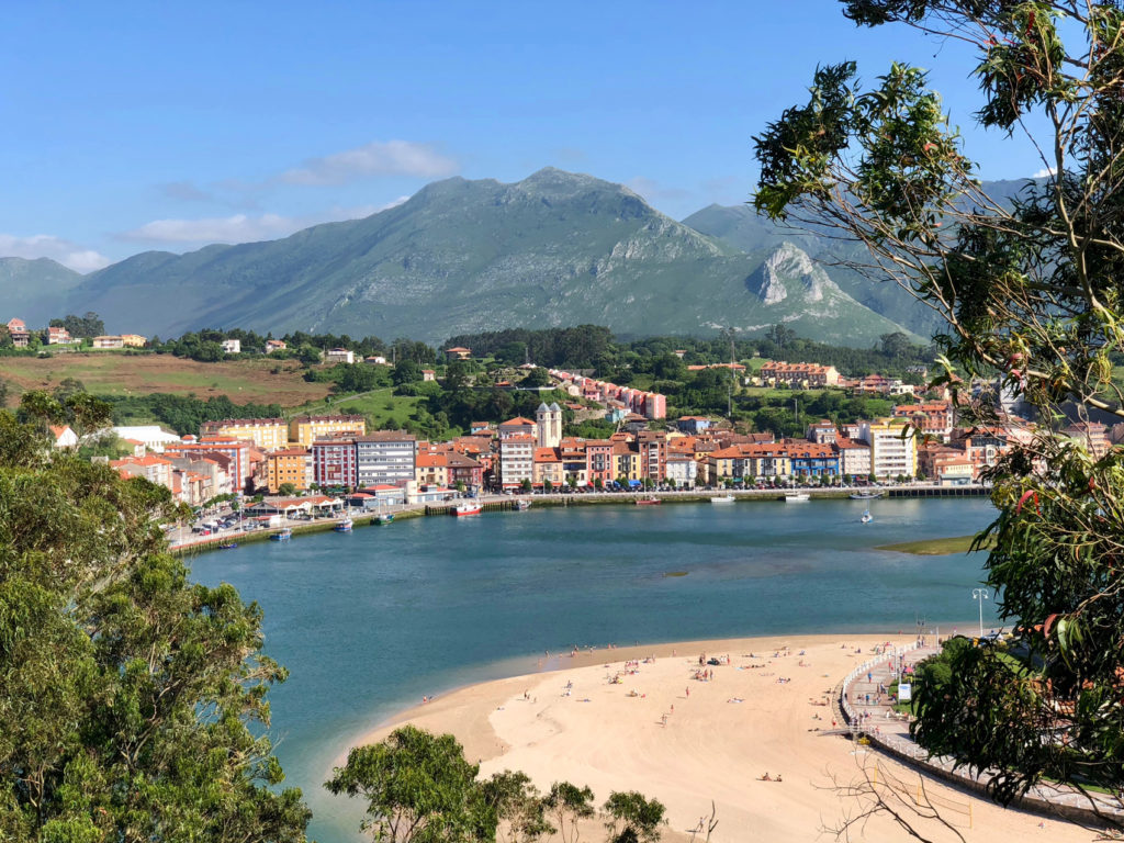 A gorgeous view over Ribadesella