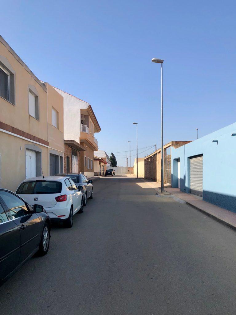 Wandering around small town Murcia