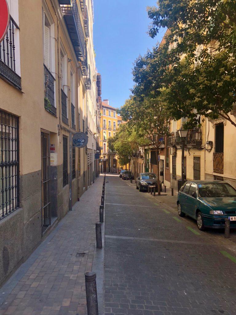 Wandering through Malasaña