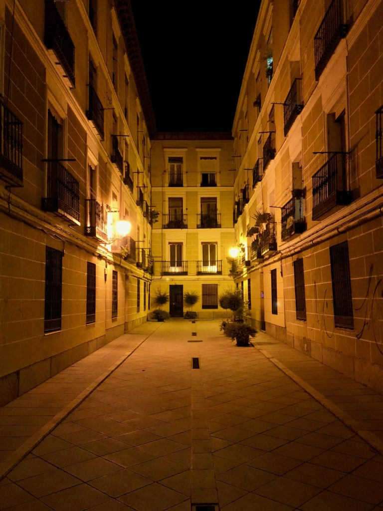 The streets by night