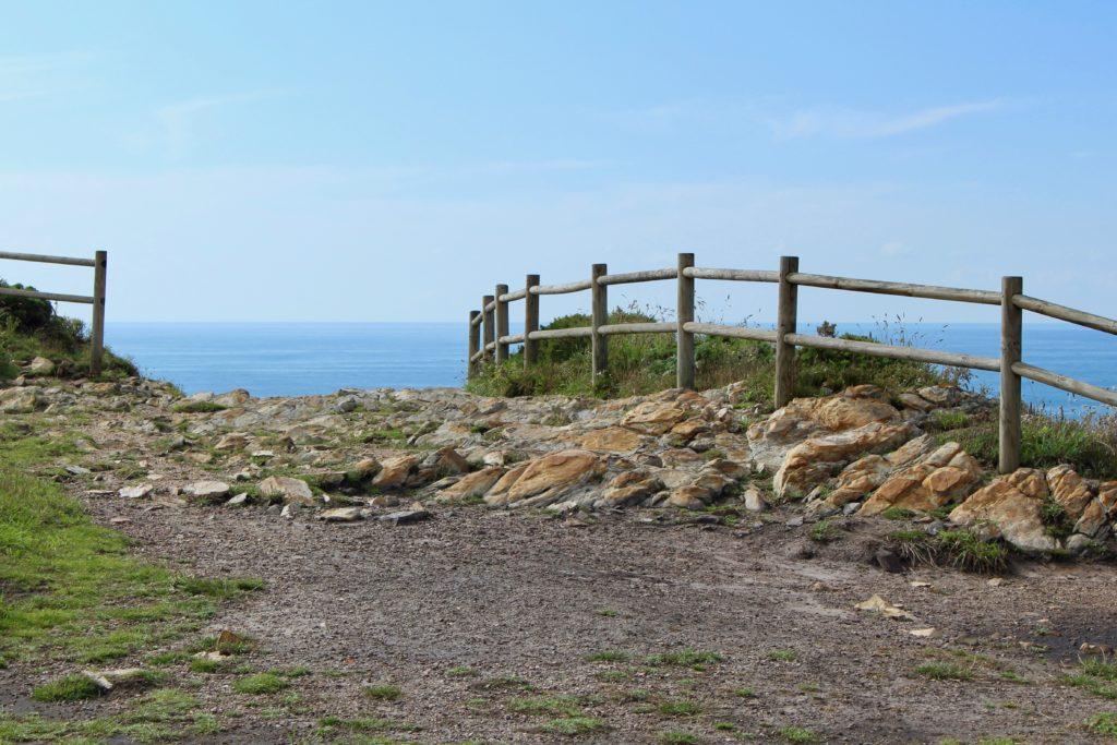 The path along the coast