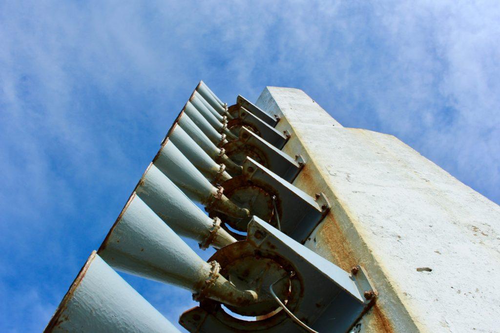The siren pylon
