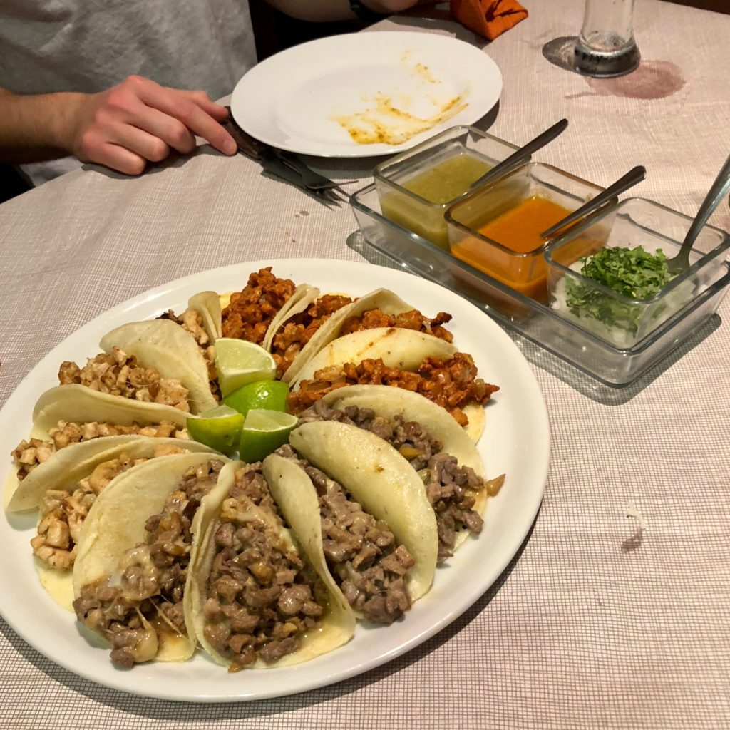 A plate of taco deliciousness