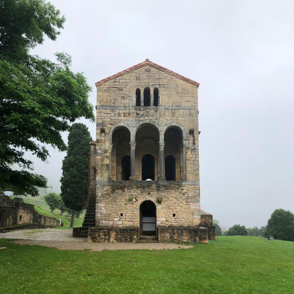 A pre-Romanesque church