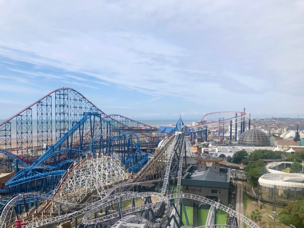 Views over Blackpool from The Big One
