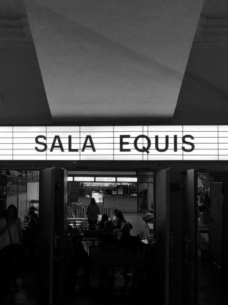 Heading into Sala Equis