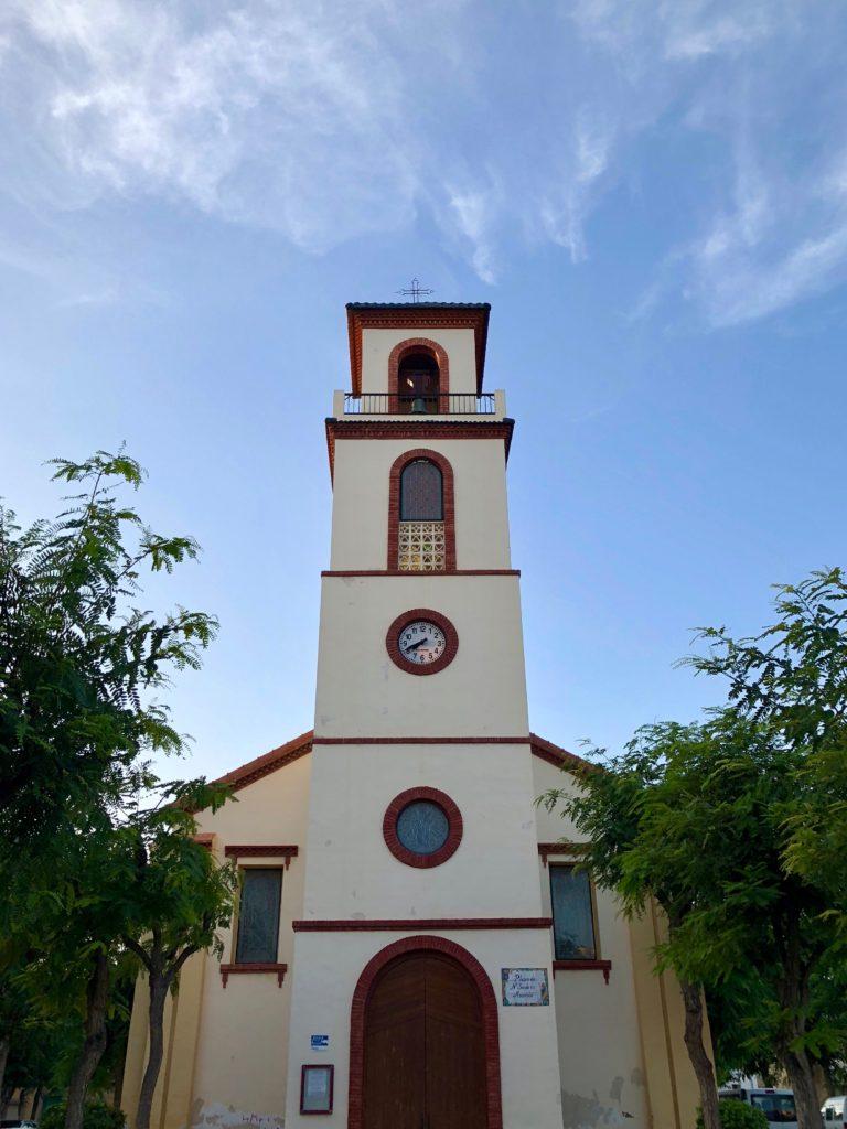 A church down by the coast