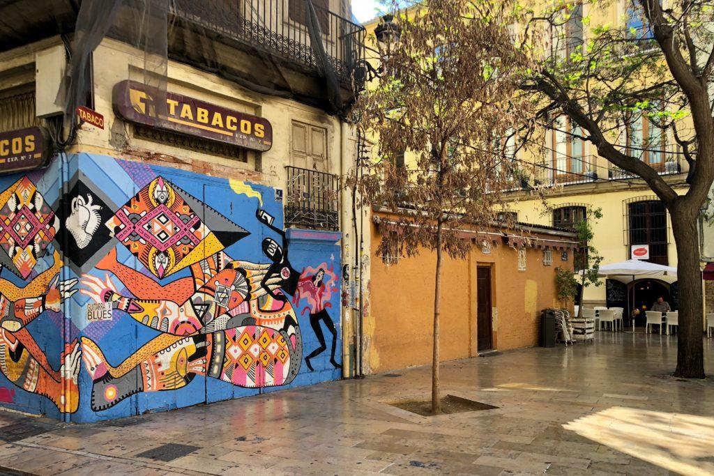 The start of the street art