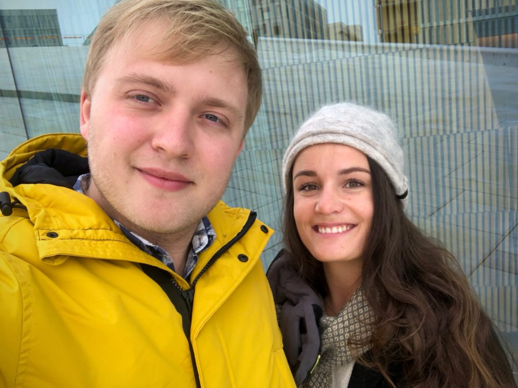A selfie by the Operahuset