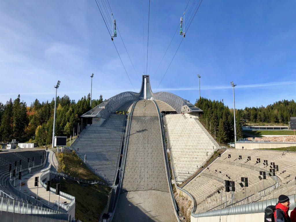 The ski jump