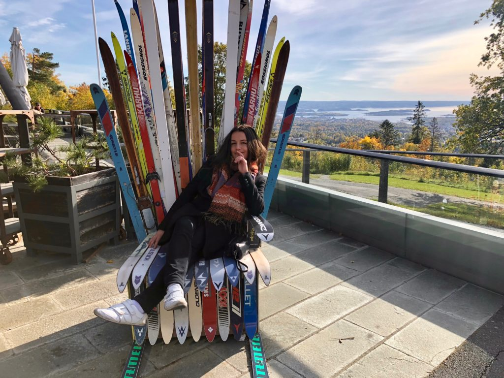 Queen of the skis