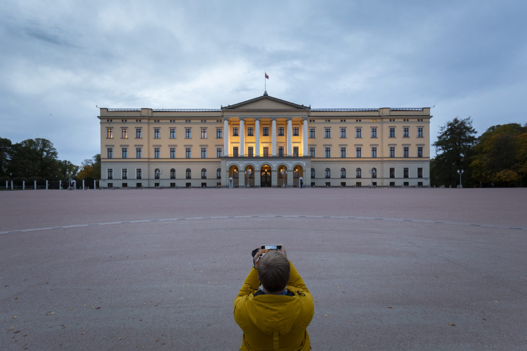 Taking in the Royal Palace