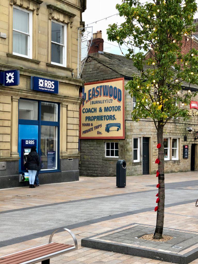 Burnley's little pretty sign