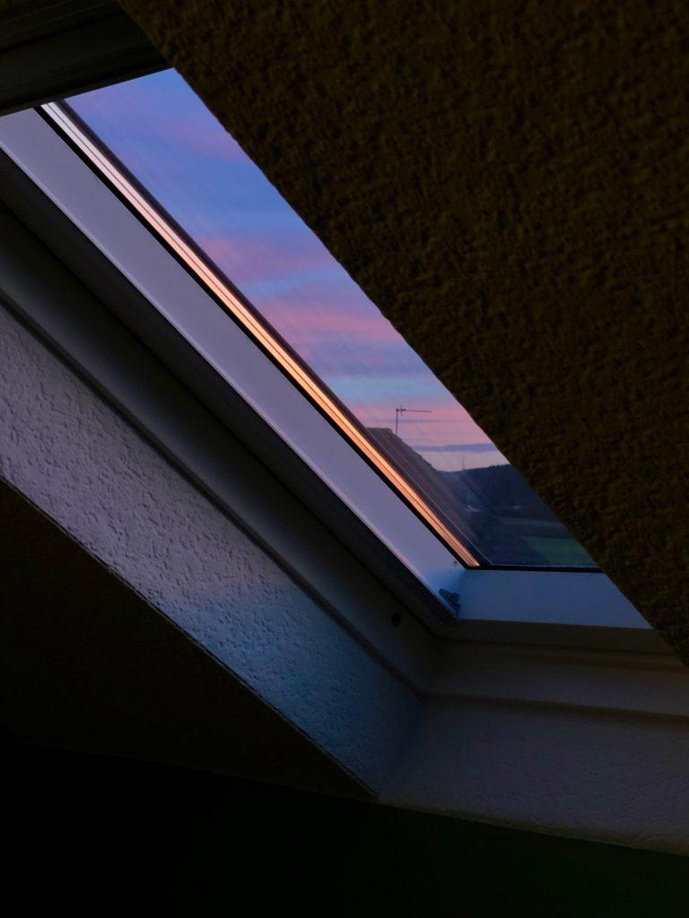 A beautiful sunset from my window