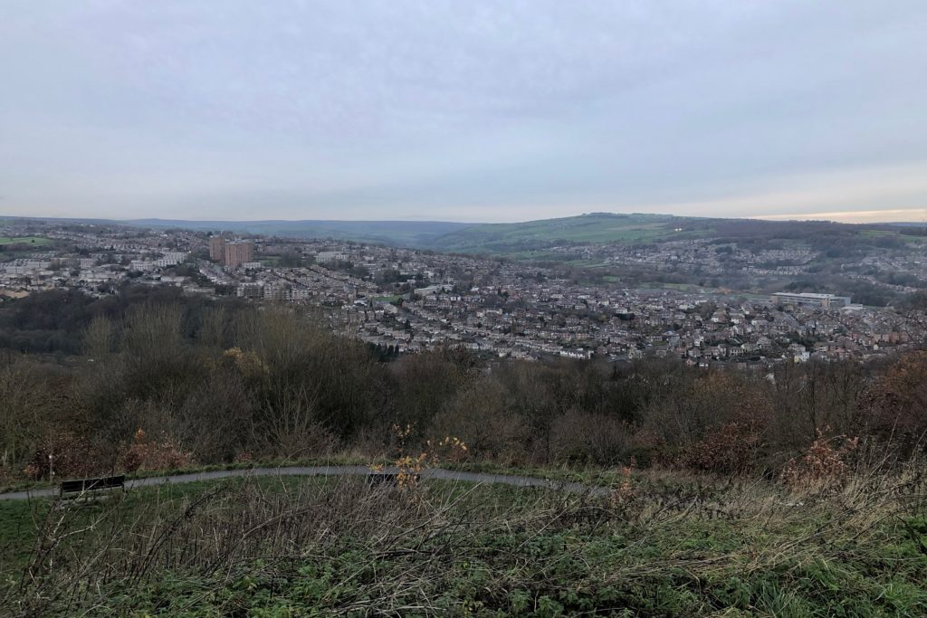 Looking out from Bole Hill